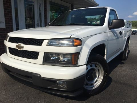Pre-Owned 2010 Chevrolet Colorado Work Truck RWD 2D Standard Cab