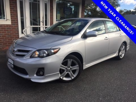 Pre-Owned 2013 Toyota Corolla S Special Edition